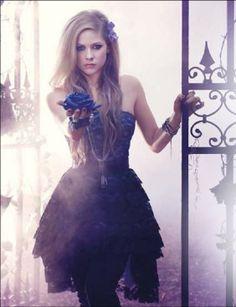 avril lavigne photoshoot fragance | ... fragrance 'Forbidden rose' advertisement pic? - Avril Lavigne - Fanpop