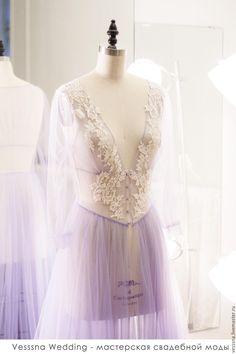 """Купить Будуарное платье """"Лаванда"""" - свадебное платье, свадебное платье на заказ, свадебное платье красивое"""