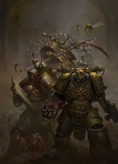 """wh40kartwork: """"The Lords of Silence Cover Art by Johan Grenier """""""