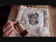 ▶ Shabbychic picture frame (Tresors de Luxe Design Team Project 4) - YouTube