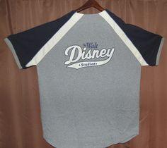 WDW Disney MICKEY MOUSE Authentic Baseball Jersey Shirt #23 - Size Large Bid $5.99