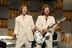 "One of my favorite skits ever!!!!!!! Saturday Night Live: Justin Timberlake as Robin Gibb / Jimmy Fallon as Barry Gibb / ""Barry Gibb Talk Show"" #SNL"