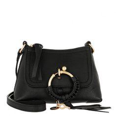 Entdecke See By Chloé Joan Crossbody Bag Mini Leather Black ❤ Schnelle  Lieferung ✓ Rechnungs- a7d8421aae