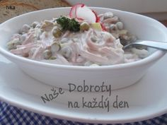 Czech Recipes, Ethnic Recipes, Salad Dressing, Ham, Potato Salad, Salad Recipes, Food And Drink, Cooking Recipes, Cookies