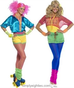 80s Keep Fit Costumes