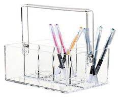 Clear Desk organiser Clear by Nomess - Design furniture and decoration with Made in Design