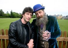 Neil Gaiman and Alan Moore.  Your argument is invalid.