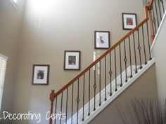 Staircase Wall Decor how to paint stairway railings | stairways, railings and banisters