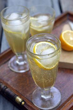 fresh ginger syrup--mix with fresh lime juice and sparkling water www.greennutrilabs.com