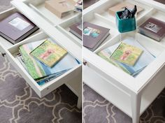 Genial Love The Way You Can See The Photo Books Through The Coffee Table. |  Virginia