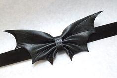 Bat bow tie Groomsmen gift Mens bow tie by TheAnchoredAlbatross