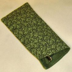 Sew  A Personalized Eye Glass Case: Free Pattern and Directions to Sew an Eye Glass Case