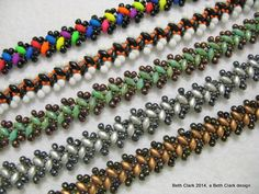 Beading by Beth: Lacy Zipper Stitch ~ Seed Bead Tutorials
