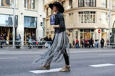 Photos by Andrea G.Rozas   (FRINGES PONCHO Hippy Heart here, T-SHIRT Zara, PANTS Asos, SHOES Emonk Ibiza by Madame de Rosa here, HAT H&M, JACKET Topshop)