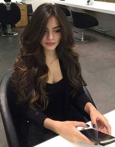 39 Trendy Ideas For Haircut Inspiration 2019 Long Hair Haircuts For Long Hair, Long Hair Cuts, Big Curls For Long Hair, Layers For Long Hair, Layered Long Hair, Layered Haircuts, Long Long Hair, Long Hair Girls, Curl Long Hair