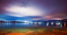 Check out Lake by night by SarahJ on Creative Market