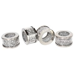 4pcs Crushed Diamond Weeding Napkin Rings Crystal Bead Napking Ring Holder For Table - Buy Wedding Bead Napkin Rings,Gold Napkin Ring Wedding,Crystal Napkin Ring Holder Product on Alibaba.com Gold Napkin Rings, Beaded Napkin Rings, Gold Napkins, Gold Rings, Crystal Pen, Crystal Gifts, Crystal Beads, Crystals, Nice Gifts