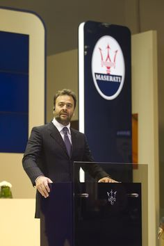 """Speaking from the press conference in Doha, Mr. Umberto Cini, Managing Director for Maserati Overseas Markets, commented """"50 years ago we took a revolutionary step when we successfully put a Maserati racing engine inside the body of a sedan; this idea not only changed our brand but brought a new segment of the industry to life."""""""