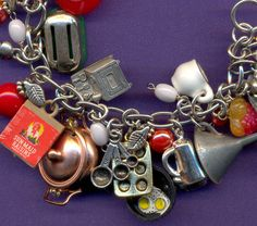 Being the foodie I am, I'm totally in love with this bracelet.
