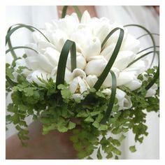Bouquet tulipani bianchi.