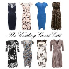 Spring and Summer are the most popular times of the year for weddings, so if you've received an invite and are looking for something unique and different from what's available on the high street then we may just have the answer #womensfashion #weddings http://www.justblue.com/knee-length-dresses.php