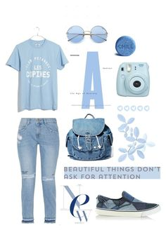 """Back To School Blues"" by jolenecolbert on Polyvore featuring Madewell, Diesel, Fujifilm, Dance & Marvel and Steve J & Yoni P"
