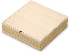 木箱 室町白箱 8寸 新 | 室町白箱 | ネットストア | 京の老舗御用達の折箱 | 京朱雀道具町 勝藤屋