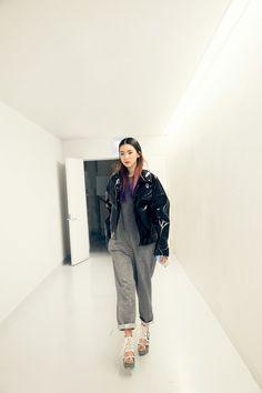 Streetstyle: Irene Kim 아이린 at Seoul Fashion Week | in Asian style | @printedlove