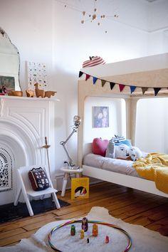 very cool kids room.