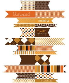 15+ Free Thanksgiving Printables...Lots of good ones including a children's placemat!
