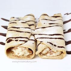 Prot: 10g, Carbs: 1g, Fat: 7g, Cal: 112 -- Tiramisu Protein Crepes by Andréa's Protein Cakery! Low-carb, gluten-free, high-protein, and delicious!