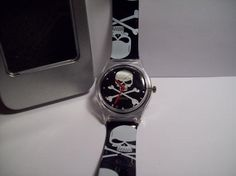 Black & White Skull Watch {Free Shipping}