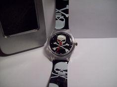 Black & White Skull Watch {Free Shipping}