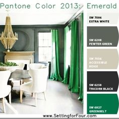 paint colors from chip it by sherwin williams emerald green