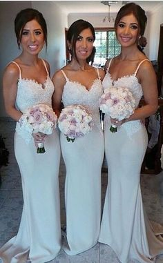 elegant bridesmaid dresses,Appliques Mermaid Custom Made Bridesmaid Dresses,Bridesmaid Dresses,Bridesmaid Dresses On Sale