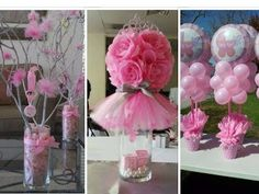 25 DIY Baby Shower Centerpieces for Girls - YouTube