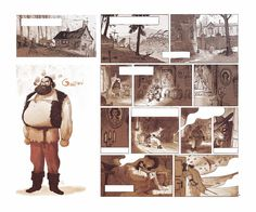 Gaspard by Florent Sacre Comic Frame, The Art Of Storytelling, Sacre, Gaspard, Comic Artist, Storyboard, Creative Director, Character Design, Cartoon