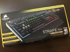 Corsair Strafe RGB Gaming Keyboard - Cherry MX Silent
