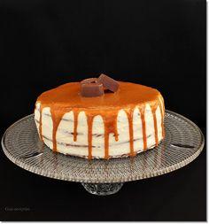 Yule, Sweet Recipes, Tiramisu, Cheesecake, Ethnic Recipes, Food, Caramel, Xmas, Cheesecakes