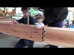 How Sharp Japanese are in joining woods - YouTube