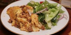 Show Girl Production - Sparkling Pastitsio with Side Salad by Carlotta