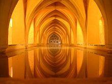 Sevilla Reales Alcazares Baños de Dña Maria de Padilla