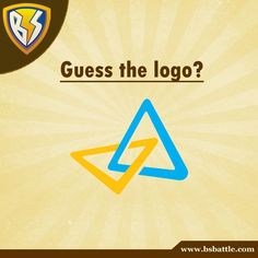 Guess the name of this logo.. Start writing in the comments below. #guess #logo #brand #name To play more quizes check out www.bsbattle.com