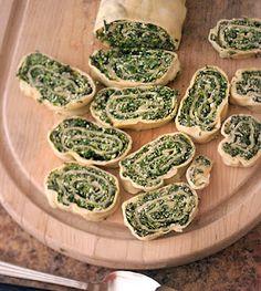 Spinach Rolls ala Cifani
