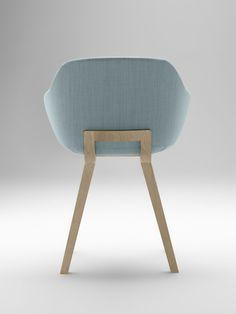 Kuskoa Bi, the first bioplastic chair - New comfortable and generouslysized seat by Alki @alkifurniture