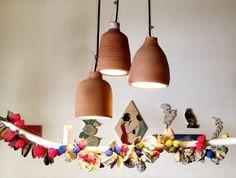 Terracotta Pendant Lights. Handmade In Australia.