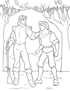 Walt Disney Coloring Pages - Captain John Smith & Thomas Hintergrund in The Walt Disney-Figuren Club Disney Coloring Pages, Coloring Book Pages, Adult Coloring, Coloring Sheets, Simpsons Drawings, Disney Drawings, Walt Disney Characters, Cute Characters, Homer Simpson Drawing