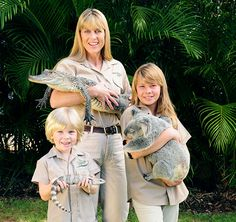 Meet the Irwins at their Zoo.