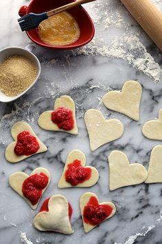 Lemon Raspberry Cookies // joy the baker