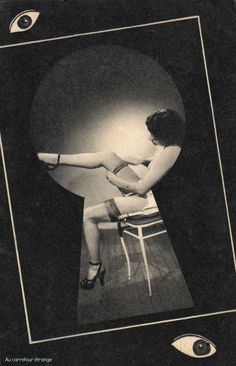 Scan from Midi-Paname n°1 (French naughty mag), 1951. °